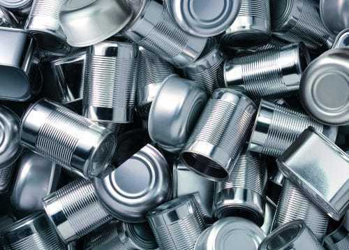 Recyclage boite de conserve