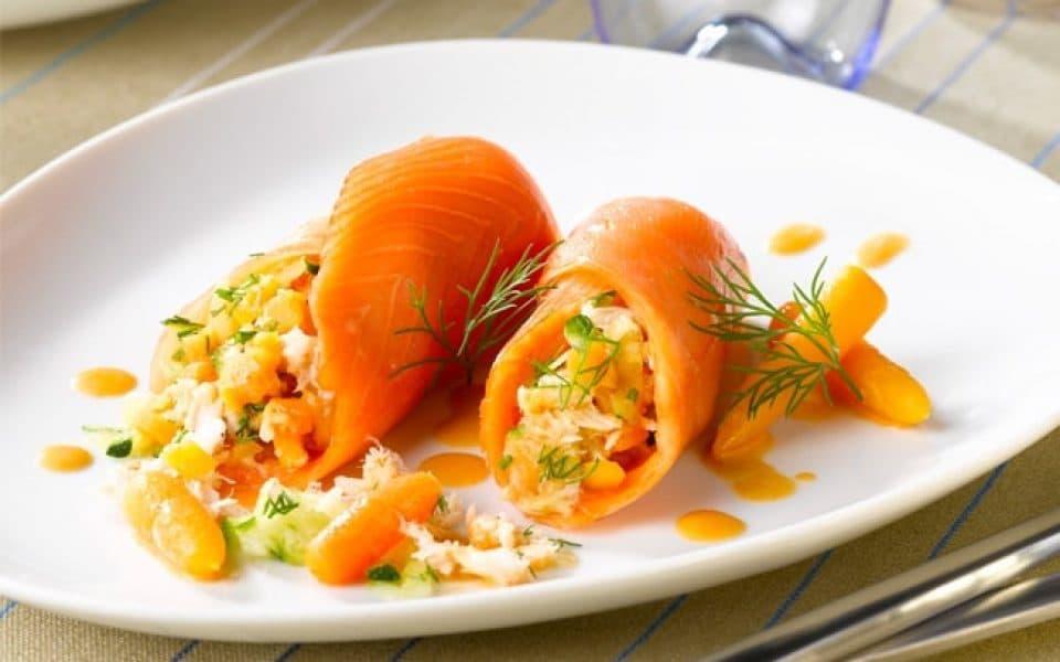 Recette de farcis de saumon aux petits légumes