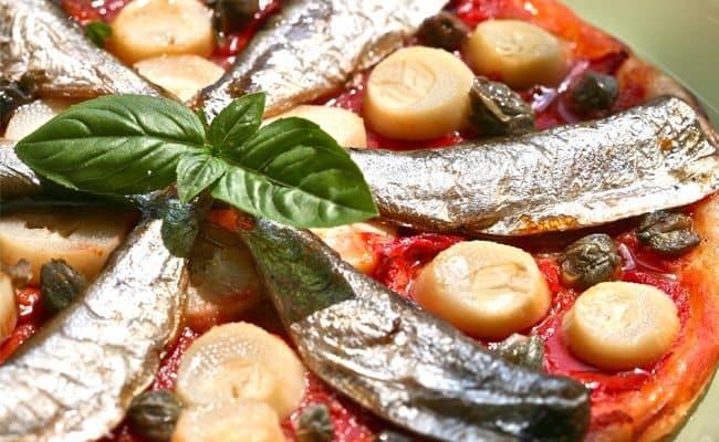 Tarte fine à la sardine