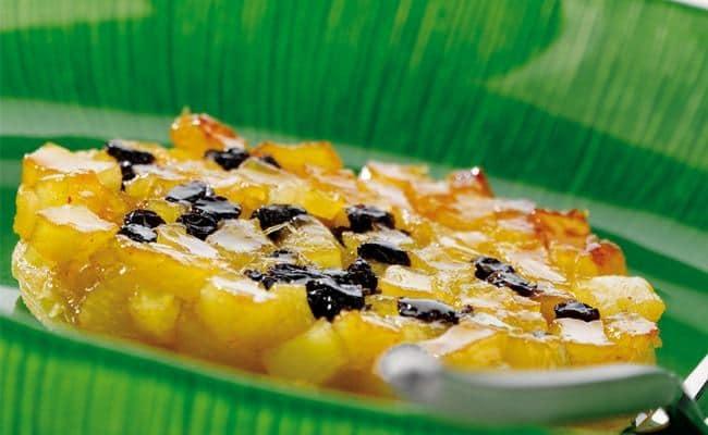 Tatin à l'ananas aux épices