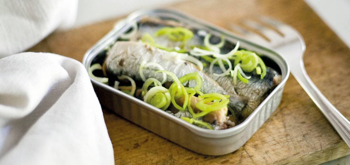 Recettes 5 Minutes Chrono : Sardines Chaudes