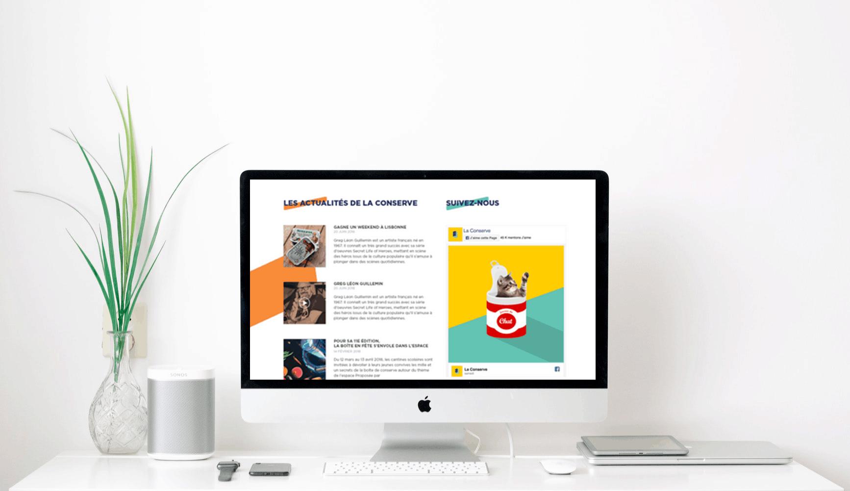 Le site internet laconserve.com fait peau neuve
