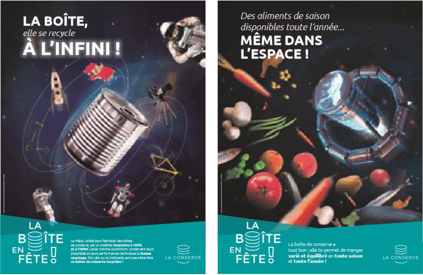 12e édition de la Boîte en Fête : du 11 mars au 12 avril 2019, la Conserve envoie près de 50 000 élèves dans l'espace