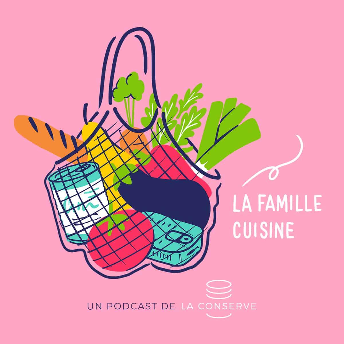 Lancement du podcast La famille Cuisine !