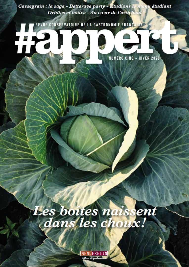 Feuilletez #appert N°5, revue conservatoire de la gastronomie française